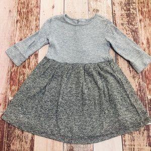 Gap girls heathered dress size xs 4-5